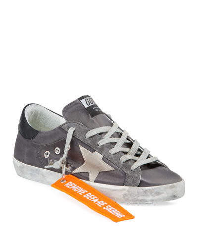 Superstar Suede Lace-Up Sneakers