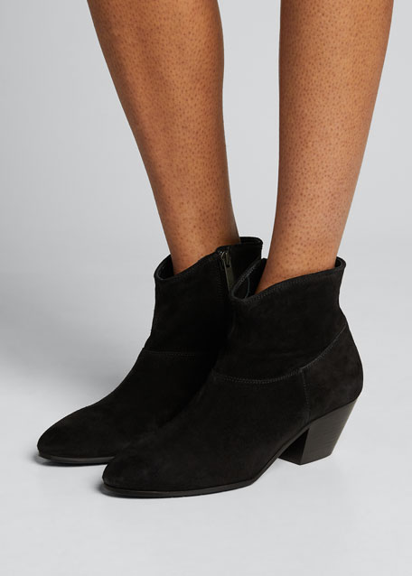 Toni Suede Ankle Booties