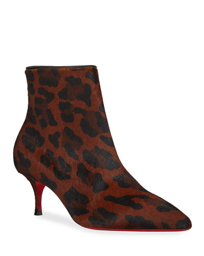 0d81982a94 So Kate Leopard Red Sole Booties Quick Look. Christian Louboutin