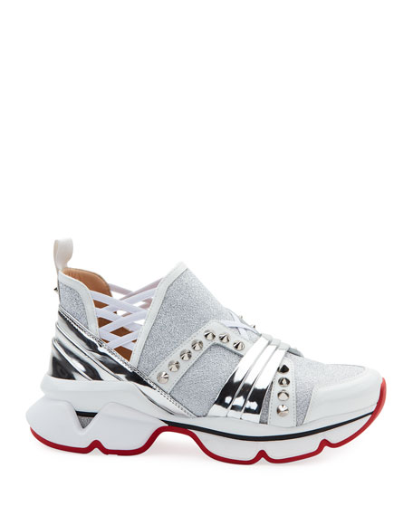 123 Run Red Sole Sneakers