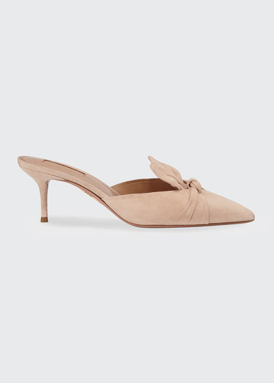58427576306 Deneuve Suede Slide Mules Quick Look. Aquazzura