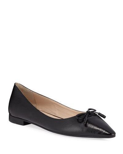 Mary Jane Patent Leather Ballerina Flats