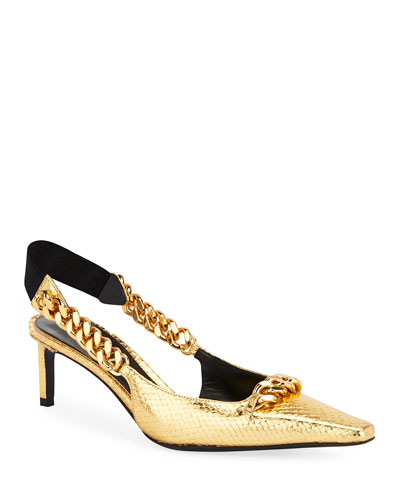 Laminated Python Chain Pumps