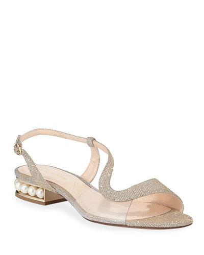 25mm Casati Glittered Sandals