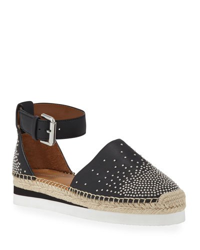 3002538df4 Promotion Studded Flat Ankle Espadrilles Quick Look. See by Chloe
