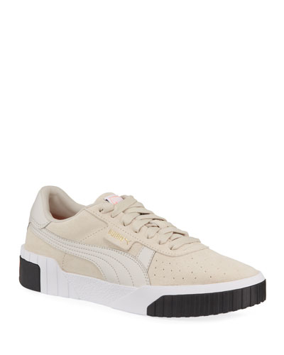 Cali Low-Top Suede Sneakers