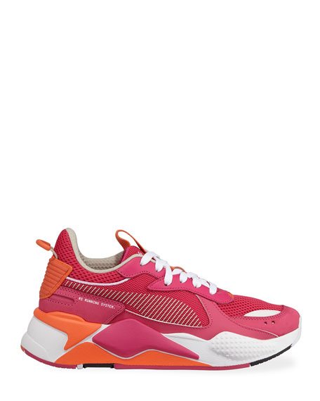 RS-X Toys Lace-Up Mesh Trainer Sneakers