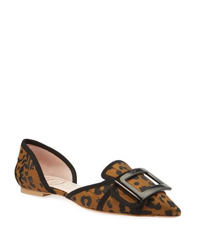 Soft Leopard Ballet Flats