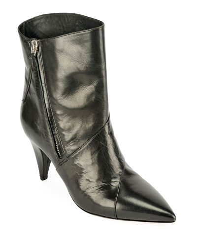 f7d7893e8ed Latts Leather Zip Booties Quick Look. Isabel Marant
