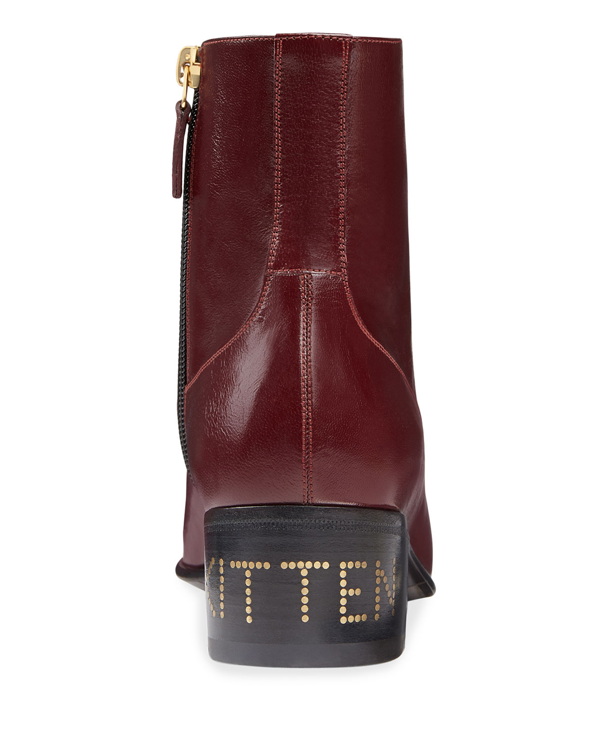 Gucci Boots Women's Leather Horsebit Chain Boots