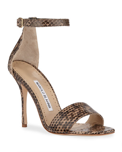 8e16c749aa80 Tres Snake d Orsay Sandals Quick Look. Manolo Blahnik