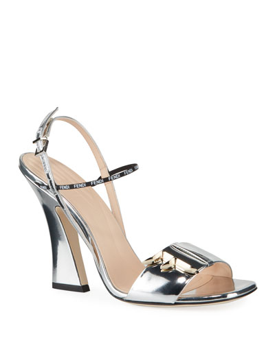 F Freedom Metallic 105mm Sandals