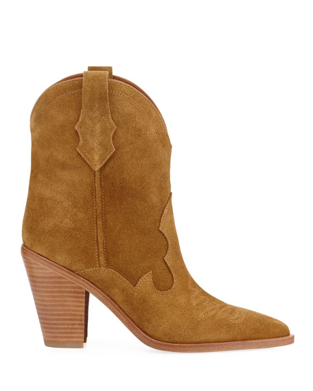 Kalila Suede Pull-On Boots