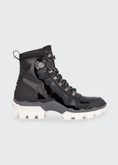 Helis Stivale Leather Lace-Up Boots