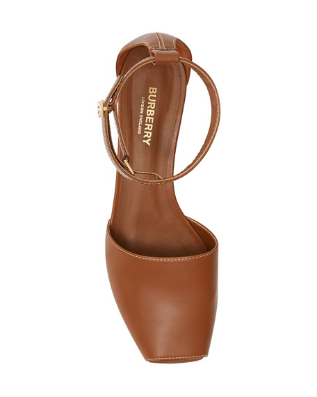 Stadling Kitten-Heel Sandals