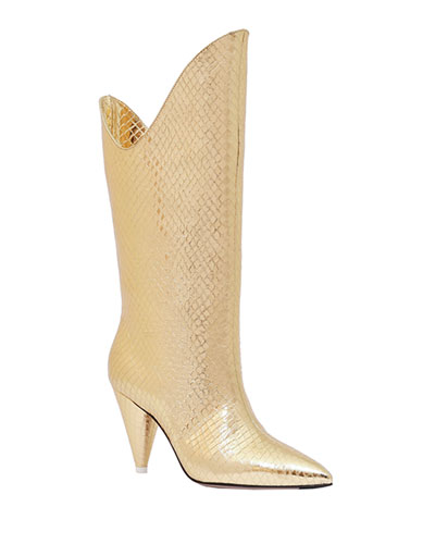 Betta Smooth Pointed Boots