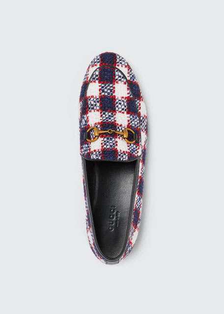 New Jordaan Vintage Tweed Check Loafers