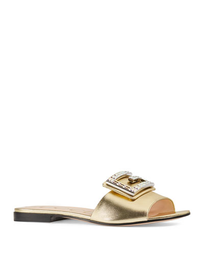 069d03ce1cd Madelyn Napa Silk Sandals Quick Look. Gucci