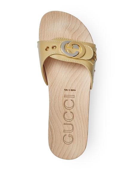 Shiner Lifford Clog Slide Sandals