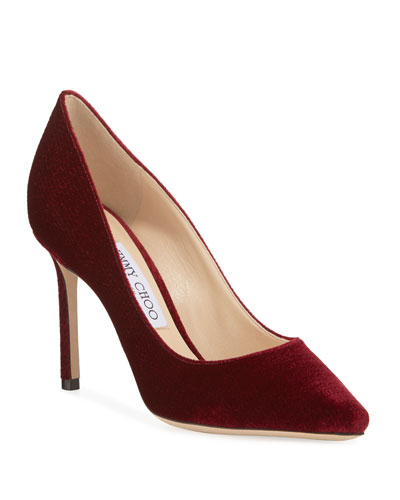 Romy Suede 85mm Pumps