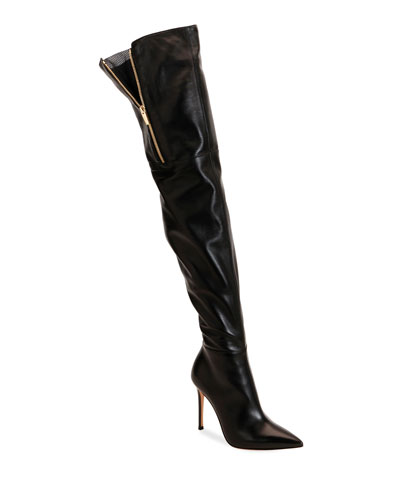 Over-The-Knee Pointed Boots