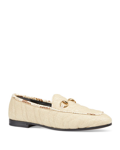 New Jordaan Straw Loafers