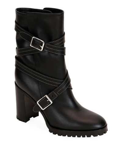 cf96e436e399d Calf Leather Wrapped Boots Quick Look. Gianvito Rossi
