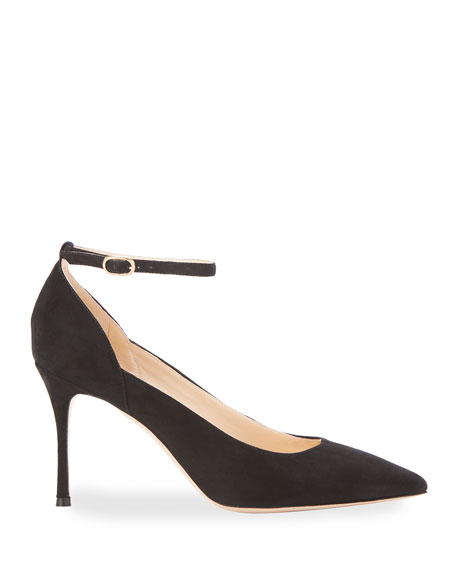 Muse Suede Pointed Pumps