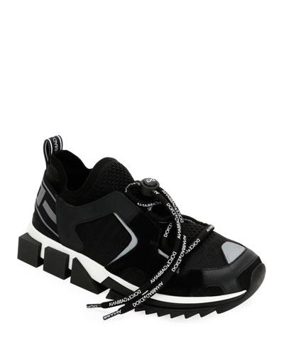 Block Sole Trainer Sneakers