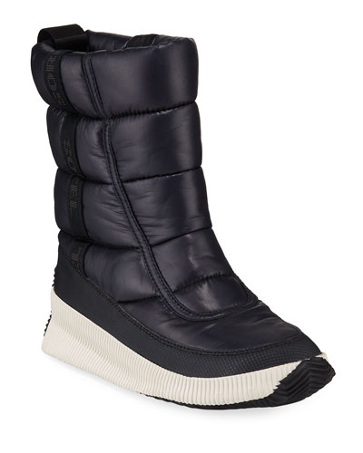 Ona Mid Puffy Tall Boots