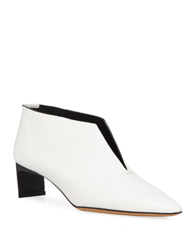 Piega Pointed Ankle Pumps