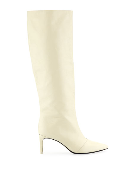 Beha Calf Leather Knee Boots