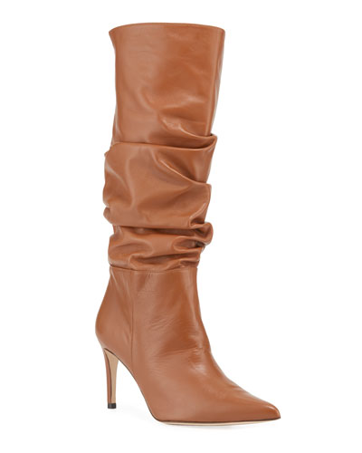 Lucy Scrunched Tall Knee Boots