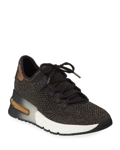 Krush Bis Mesh Sneakers  Black/Gold
