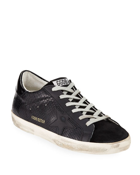 Superstar Tonal Leather Sneakers