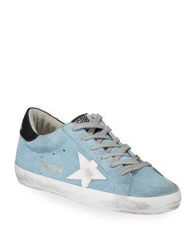 df287573e Superstar Suede Low-Top Sneakers Quick Look. Golden Goose