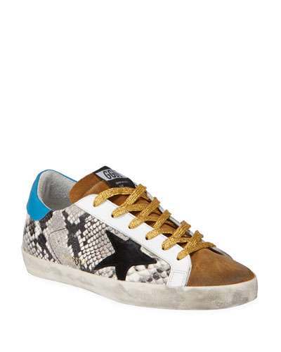 f2f2580542ed Superstar Mixed Rock Snake Sneakers Quick Look. Golden Goose