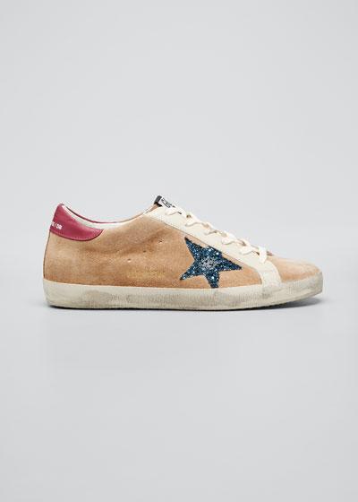 Superstar Desert Snake-Print High-Top Sneakers