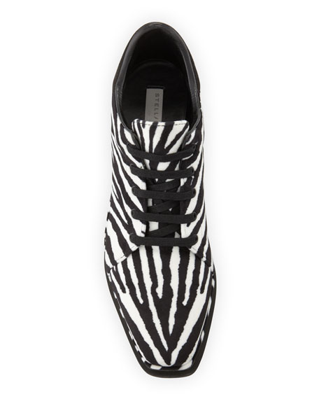 Elyse Zebra-Print Sneakers