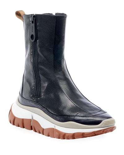 Blake Side Zip Booties