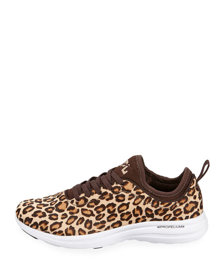Phantom Calf Fur Running Sneakers