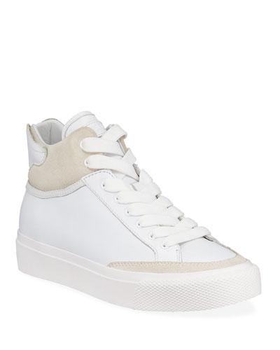 Army High-Top Platform Sneakers