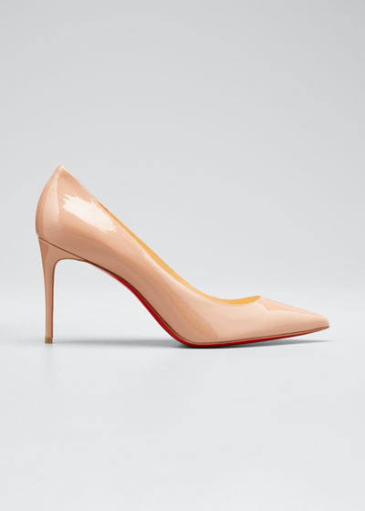 0f2f01226c81b Decollete 85mm Patent Leather Red Sole Pump Quick Look. Christian Louboutin