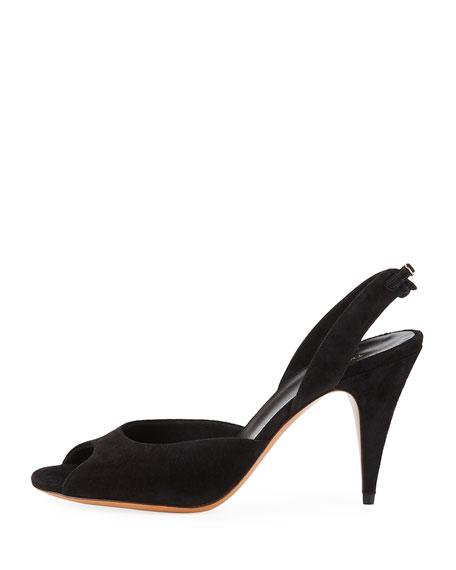 Swing Suede Slingback Sandals