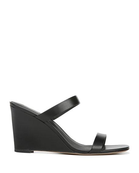 Vivienne Leather Slide Sandals
