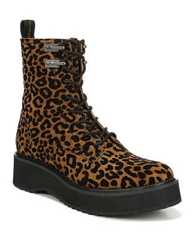 In Charge Leopard Boots