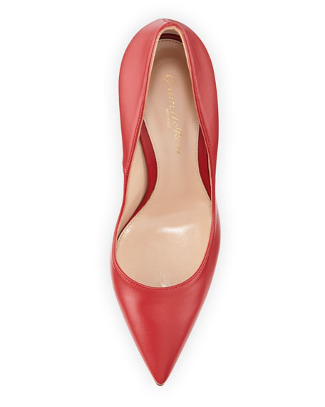 Pointed-Toe Napa High-Back Pumps