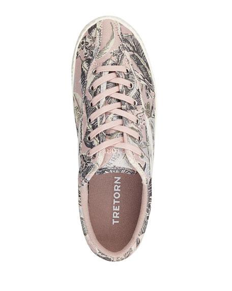 Nylite Plus Jacquard Low-Top Sneakers