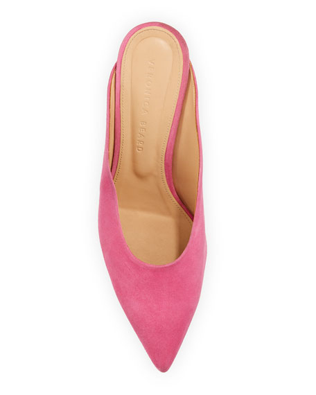Taran Slide Pointed Mules
