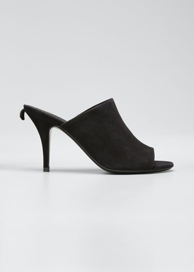 Janine Suede Mule Sandals
